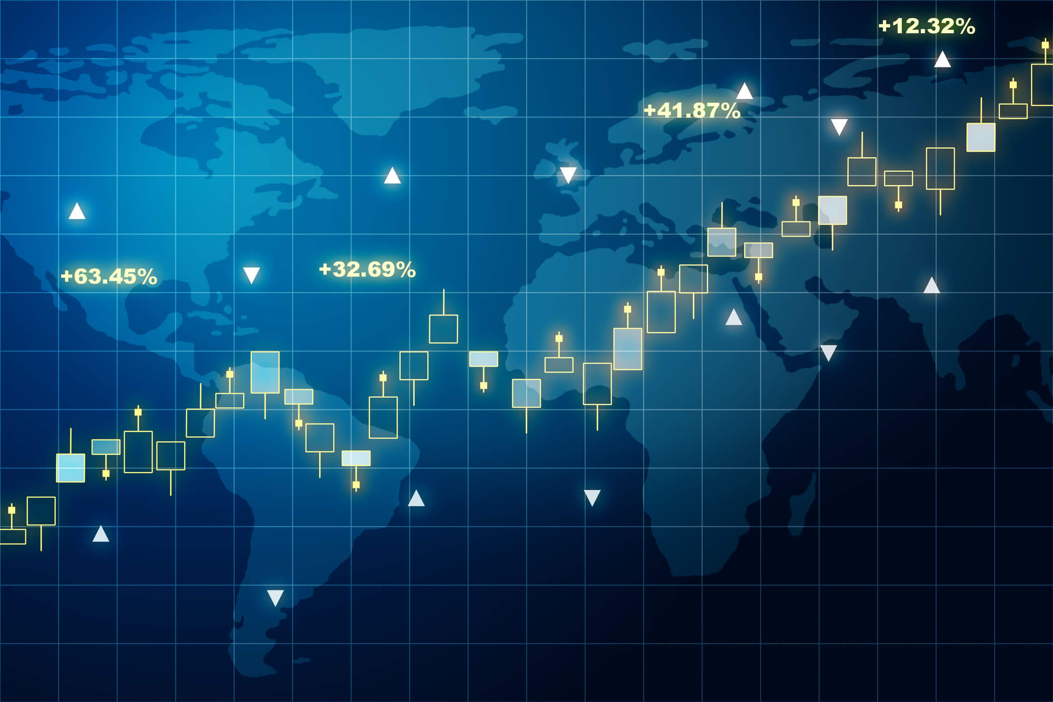Global statistics across multiple continents to signify insider-trading ring.